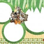 Mickey Safari – Kit Completo com molduras para convites, rótulos para guloseimas, lembrancinhas e imagens!