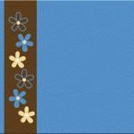 Ursinho Fofo Azul e Marrom: