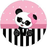 Kit Festa Panda Rosa Kit Festa