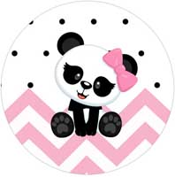Kit Festa Panda Rosa Menina
