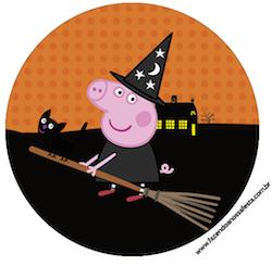 Rótulo-para-Tubetes-Toppers-e-Latinhas-Peppa-Pig-Halloween
