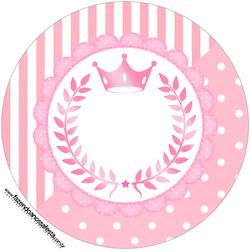 Toppers-docinhos-e-cupcakes-Kit-Realeza-Rosa