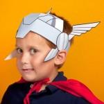 Molde Capacete Thor!