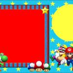 Super Mario Bros – Kit Completo com molduras para convites, rótulos para guloseimas, lembrancinhas e imagens!