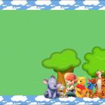 Meus Amigos Tigrão e Pooh – Kit Completo com molduras para convites, rótulos para guloseimas, lembrancinhas e imagens!