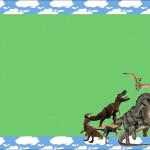 Dinossauros – Kit Completo com molduras para convites, rótulos para guloseimas, lembrancinhas e imagens!
