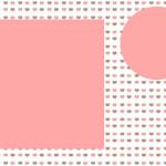 Fundo Corações – Kit Completo com molduras para convites, rótulos para guloseimas, lembrancinhas e imagens!