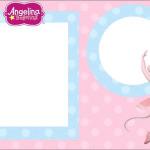 Angelina Bailarina – Kit Completo com molduras para convites, rótulos para guloseimas, lembrancinhas e imagens!