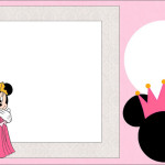Minnie Princesa – Kit Completo com molduras para convites, rótulos para guloseimas, lembrancinhas e imagens!