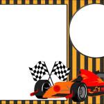 Formula 1 – Kit Completo com molduras para convites, rótulos para guloseimas, lembrancinhas e imagens!