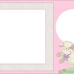 Ovelha – Kit Completo com molduras para convites, rótulos para guloseimas, lembrancinhas e imagens!