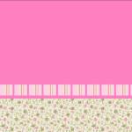 Provençal Rosa Floral – Kit Completo com molduras para convites, rótulos para guloseimas, lembrancinhas e imagens!