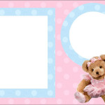 Ursinha Bailarina – Kit Completo com molduras para convites, rótulos para guloseimas, lembrancinhas e imagens!