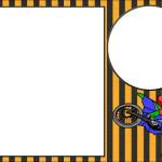 Motocross – Kit Completo com molduras para convites, rótulos para guloseimas, lembrancinhas e imagens!