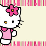 Hello Kitty – Kit Completo com molduras para convites, rótulos para guloseimas, lembrancinhas e imagens!