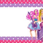 Barbie Princesa e a Pop Star – Kit Completo com molduras para convites, rótulos para guloseimas, lembrancinhas e imagens!