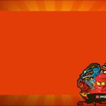 Lego Ninjago – Kit Completo com molduras para convites, rótulos para guloseimas, lembrancinhas e imagens!