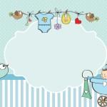 Chá de Bebê ou Chá de Fraldas para Menino – Kit Completo