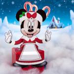 Caixa Minnie e Mickey de Natal 3D Para Imprimir e Montar!