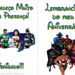 Liga da Justiça – Livrinho de Atividades!