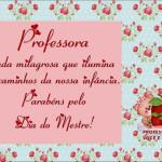 Cartão para o dia do Professor com Mensagem!