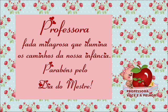 Mensagem Para Os Professores Do Ministério Infantil: Cartão Para O Dia Do Professor Com Mensagem
