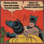 Quadrinho Limpo de Batman e Robin!