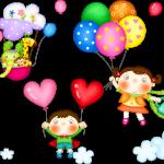 Dia das Crianças – Mini kit com molduras para convites, rótulos para guloseimas, lembrancinhas e imagens!