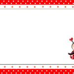 Joaninha – Kit Completo com molduras para convites, rótulos para guloseimas, lembrancinhas e imagens!