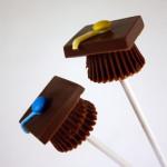 Pops para Formatura usando Chocolate Alpino!