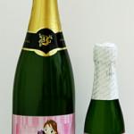 Rótulos para Personalizar Champagne/Espumante para Padrinhos de Casamento!