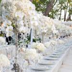 Tendências 2013 – Decoração com Flores para Casamentos !