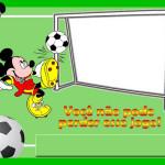 Mini Kit de Futebol Variado – Mini Kit com molduras para convites, rótulos para guloseimas, lembrancinhas e imagens!