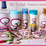 Moldes do Kit Toilet Completo para Banheiro!