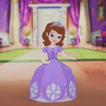 Boneca 3D Princesa Sofia da Disney para Recortar e Montar!