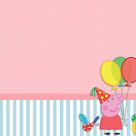 Peppa Pig – Kit Completo com molduras para convites, rótulos para guloseimas, lembrancinhas e imagens!