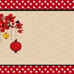 Oriental Japonês – Kit Completo com molduras para convites, rótulos para guloseimas, lembrancinhas e imagens!