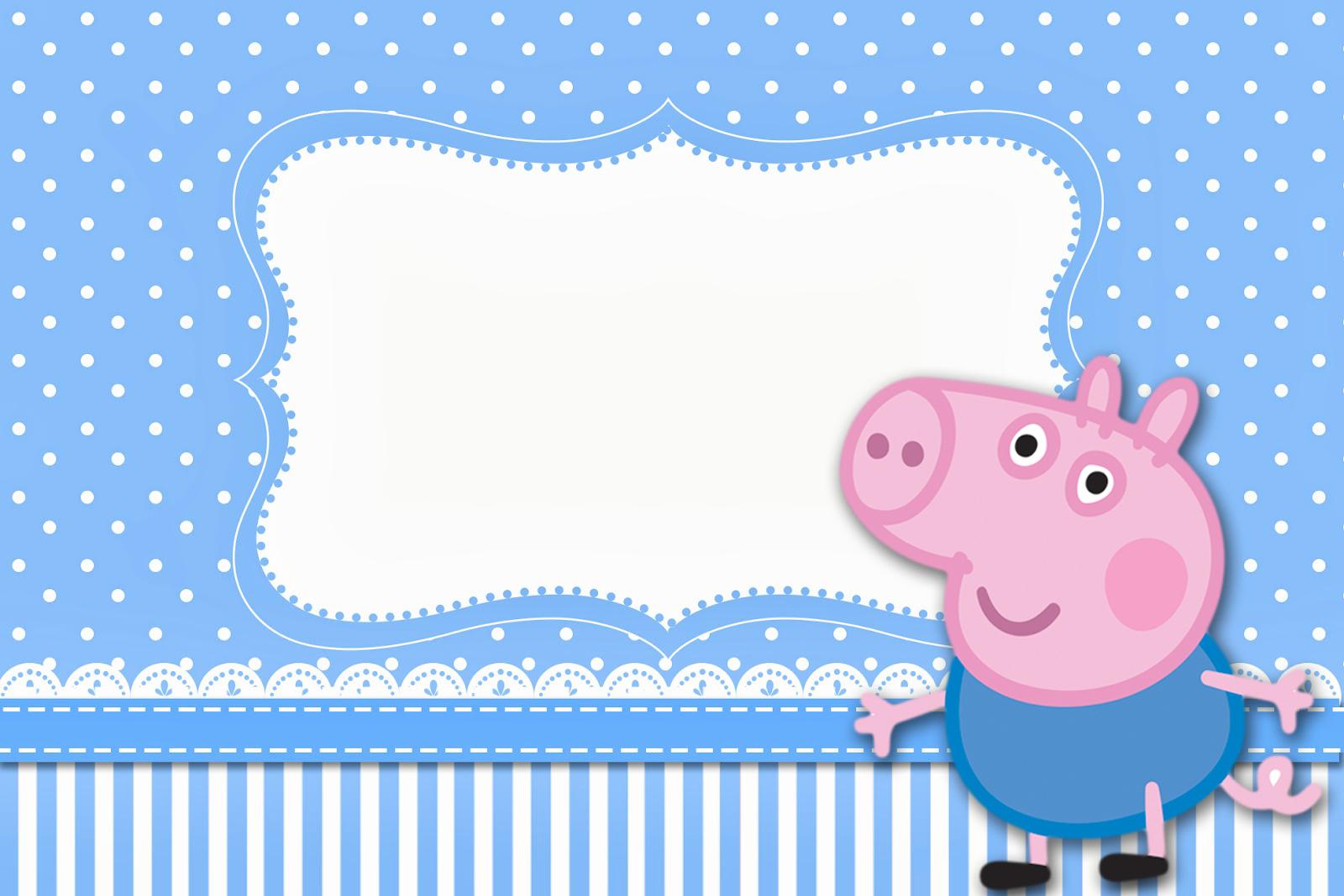 Kit Completo George Pig Peppa Pig