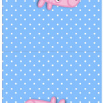 Convite Pirulito George Pig (Peppa Pig):