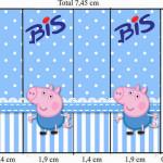 Rótulo Bis George Pig (Peppa Pig):
