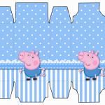 Caixa Sabonete George Pig (Peppa Pig):