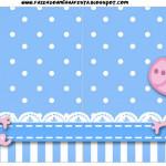 Bandeirinha Sanduiche George Pig (Peppa Pig):