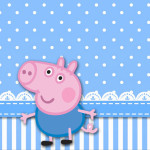 Chocolate George Pig (Peppa Pig):