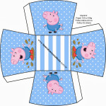 Chachepô de Mesa George Pig (Peppa Pig):