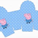 Caixa Cupcake George Pig (Peppa Pig):