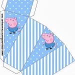 Caixa Fatia George Pig (Peppa Pig):