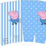 Caixa Pipoca George Pig (Peppa Pig):