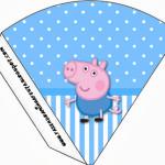 Cone Guloseimas George Pig (Peppa Pig):