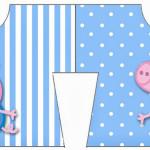 Convite Camisa George Pig (Peppa Pig):