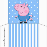 Envelope CD DVD George Pig (Peppa Pig):